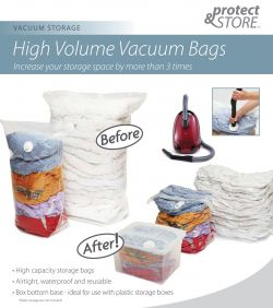 high volume vacuum bags