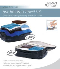 sixpc roll bag travelset